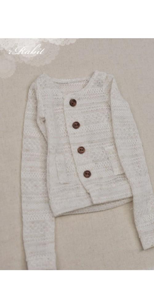 1/4 Cute Round Neckline Sweater coat KC020 1629