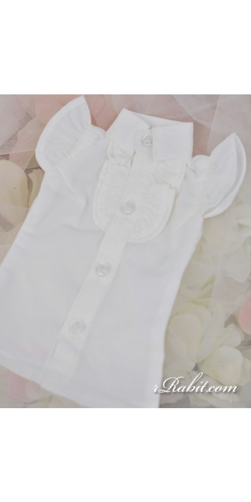 1/4 MSD MDD Holiday AngelPhilia - Butterfly-sleeve shirt shirt - LC015 1703 (White)