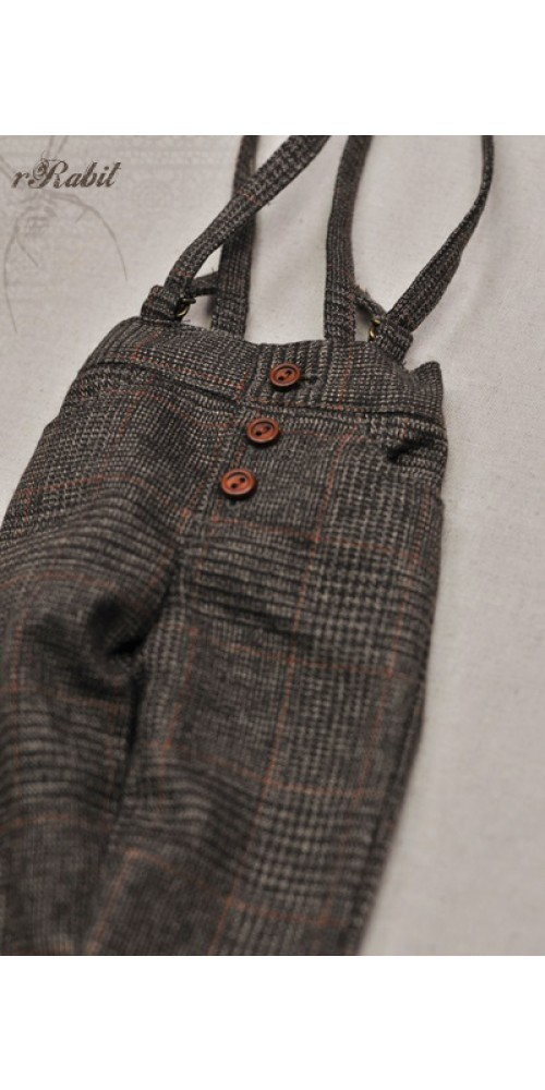 1/4 Antique Suspender pants MG052 1611
