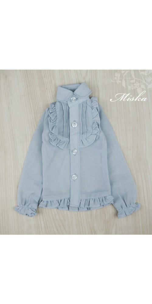 MISKA*1/4 Chiffon Lotus Shirt   - MSK010 005