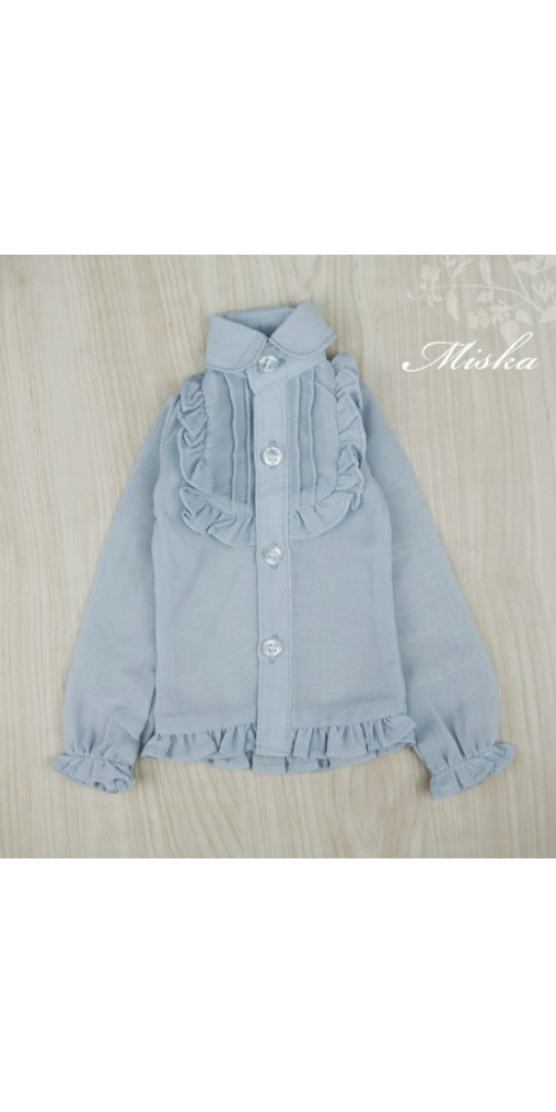 MISKA*1/3 Chiffon Lotus Shirt   - MSK010 005