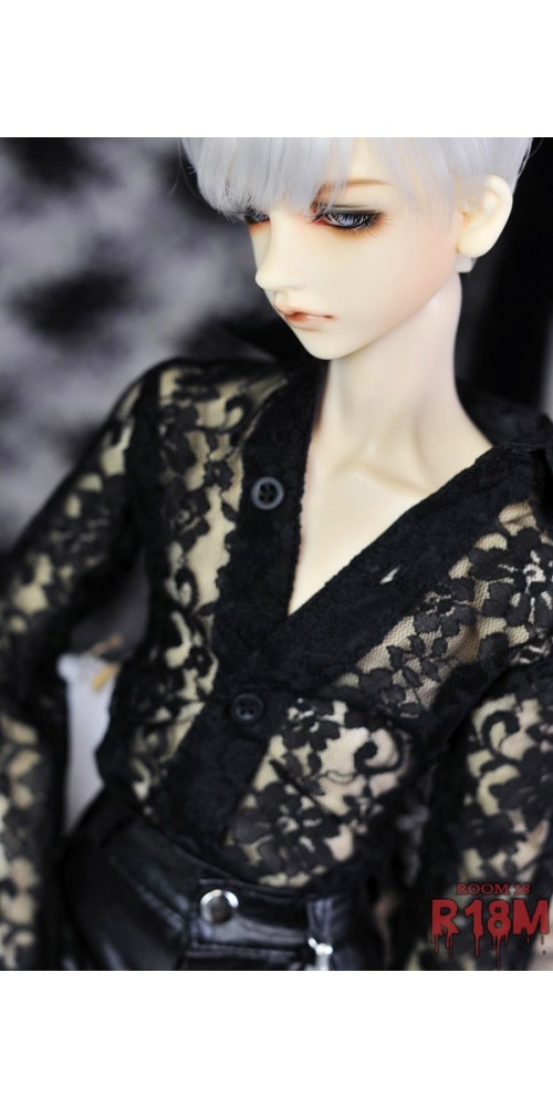 [R18M] 1/3 Boy Lace Basic Shirt - RM003 002