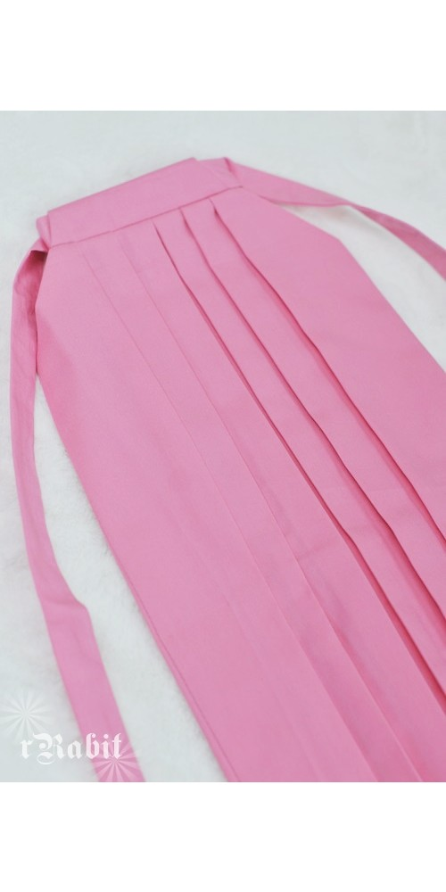 1/3 Hakama 行燈袴 (Japanese Bottom Dress) TS001 1706 (Pink)