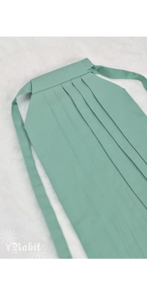 1/3 Hakama 行燈袴 (Japanese Bottom Dress) TS001 1712 (Lake Green)