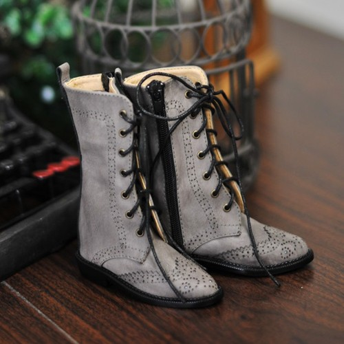 1/3 Girl SD10/13/16/DD Wingtips boots BLS005 - Dusty Grey