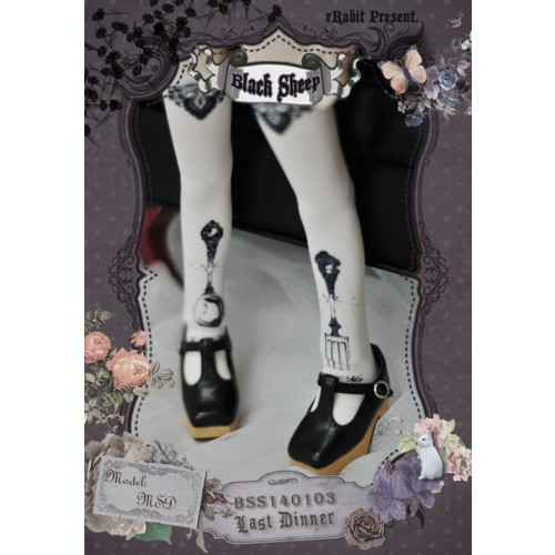 ♣Black Sheep♣ Socks BSS140103 Last Dinner