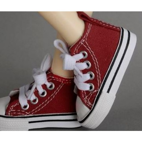 1/3 Gril + 1/4 *Candy  Canvas Shoes CA001 - Red
