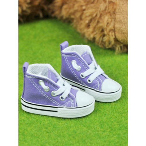 1/3 Gril + 1/4 *Candy  Canvas Shoes CA001 - Purple