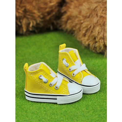 1/3 Gril + 1/4 *Candy  Canvas Shoes CA001 - Yellow
