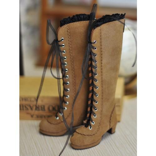 1/3 SD10/13 - LG002 Carving long boot - Cinnamon
