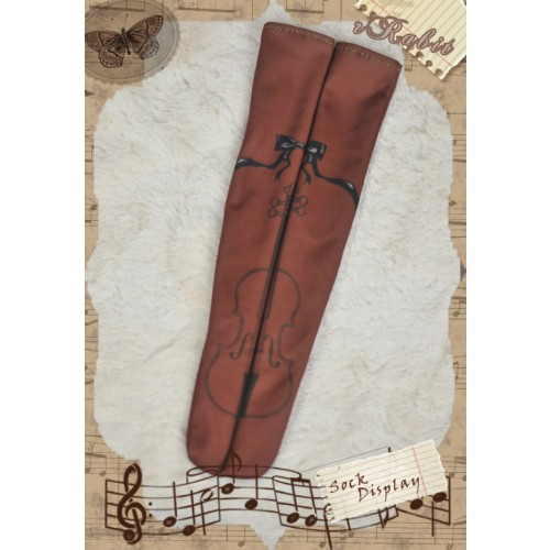 1/3 Socks RS140101 ♥ Brown Violin