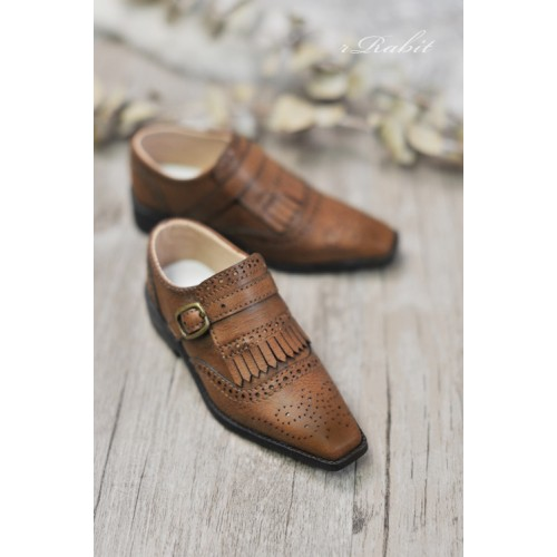 [Jan Pre]SD13/SD17 - Bourbon Oxford Shoes- RSH004 Caramel