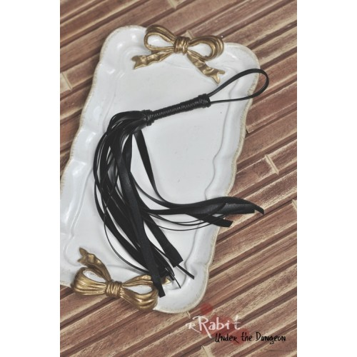 1/3 Leather Flogger (Black) - UDAS002