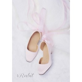 1/3Girl/SD10/13 Flatfeet /Ballet Mary Jane shoes[BLS007] Shell Pink