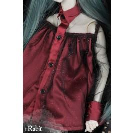 1/4 free size: Tiara Dress - Halloween theme's BSC024 1706 (Red)