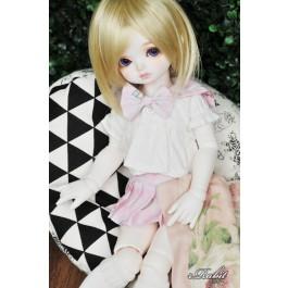 1/4 MSD MDD Holiday Angel Philia - Sailor Cute Dress Set - CP010 011 (Pink check)