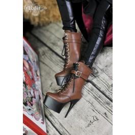 [Pre] 1/3 Boy/IP House Girls - Stilettos High Ankle Boots [DA003] Carbo