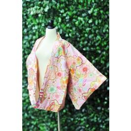 [Limited] 1/3 Haori羽織 - [万華の春] - Pink HA1902