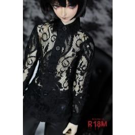 [R18M] 1/3 Boy Lace Basic Shirt - RM003 004
