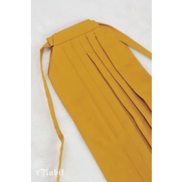 1/4 Hakama 行燈袴 (Japanese Bottom Dress) TS001 1709 (Mustard)