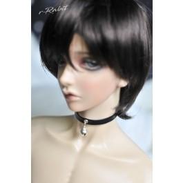 1/3 BOY Leather neck band - Black