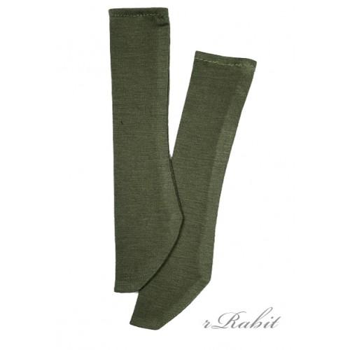 1/3 Boy short socks - AS003 007 (ArmyGreen)