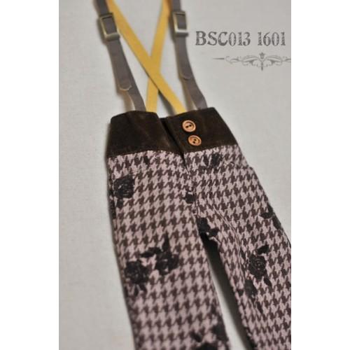1/4 Capri Pants with Suspenders  BSC013 1601
