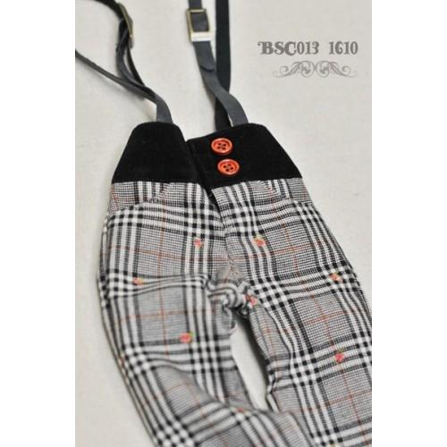 1/4 Capri Pants with Suspenders  BSC013 1610