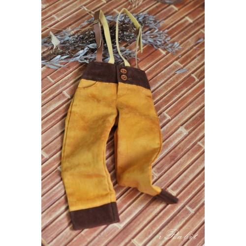 1/4 Capri Pants with Suspenders  BSC013 2001