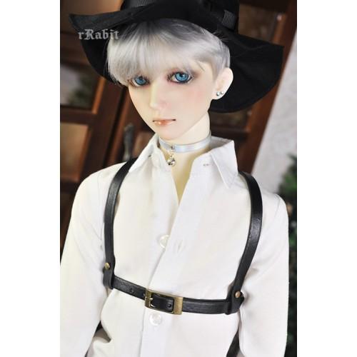1/3 BOY [Leather Harness- The Belt ] -  Black