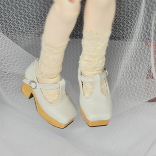 1/3 Girls - [Coven One] T-sharp shoes - White