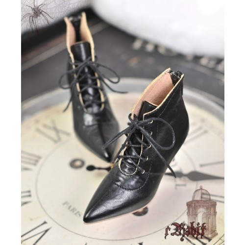 1/3 Girls Highheels /DD+ Pointed Toe Ankle Boots [Coven Three] - Dark Night