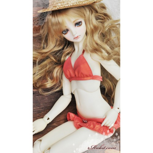 1/3 Girl - Candy Ruffle Bikini - CP005 1707 (Shine Salmon)