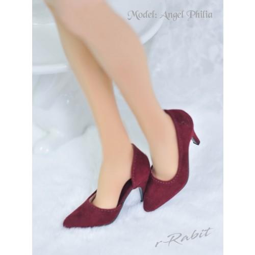 Queen's heels ✚1/4 HighHeels/MDD/AP/Minifee/Unoa [DA002] - Berry Velvet