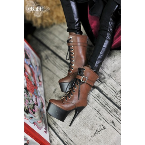 1/3 Boy/IP House Girls - Stilettos High Ankle Boots [DA003] Carbo