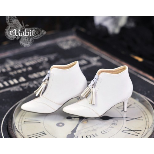 1/3 Boy/IP House Girls/SD17 - Tassel Ankle Boots [DA004] White