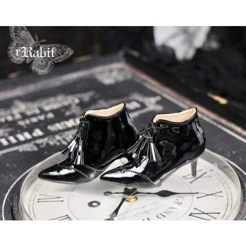 1/3 Boy/IP House Girls/SD17 - Tassel Ankle Boots [DA004] Patent Black