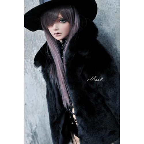 1/3 Sugar Fur Coat - DF003 1901 (Black)
