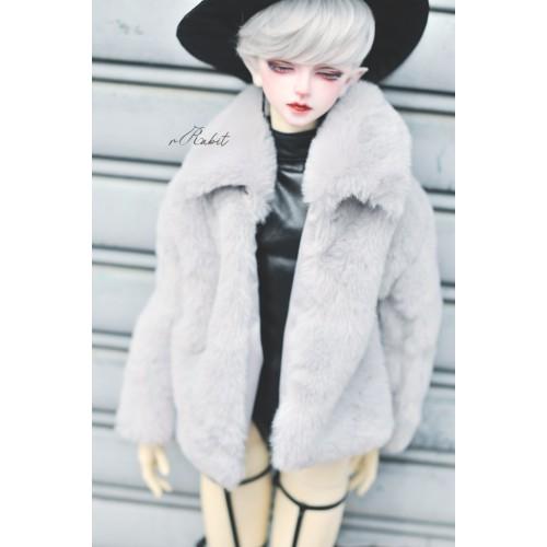 1/3 Sugar Fur Coat - DF003 1903 (Light Grey)
