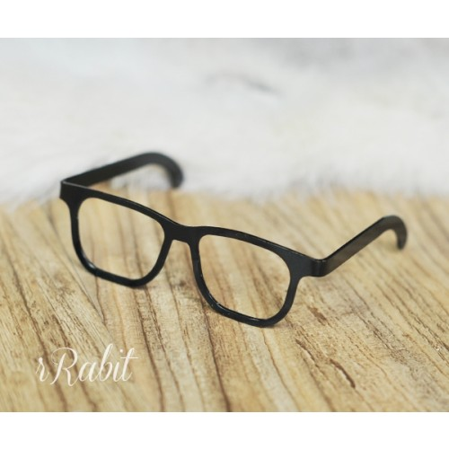 1/3 Lens-free Glasses - Black