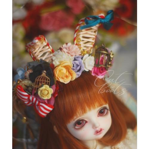 """[Le Maître chat] 8""""~9"""" head accessories HB-002"""