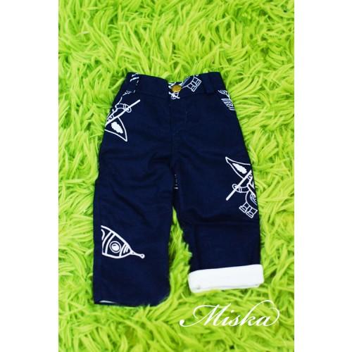 Miska Homme - 1/4 Capri Pants - HEM005 003