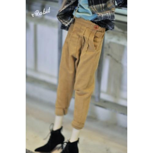 1/4 [Corduroy pants] - HL043 1906