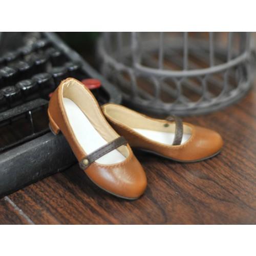 1/4 Sugar Dolly Shoes LG008 - Cinnamon