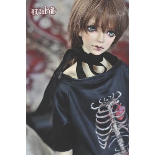 1/3 Sternum Tee Shirt - SH036 1801 (Black)