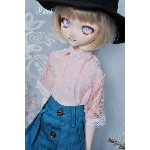 1/4 [Witchcraft Academic] - Jojina Shirt - CVZ001 003 (Pink w/ Blue ribbon)