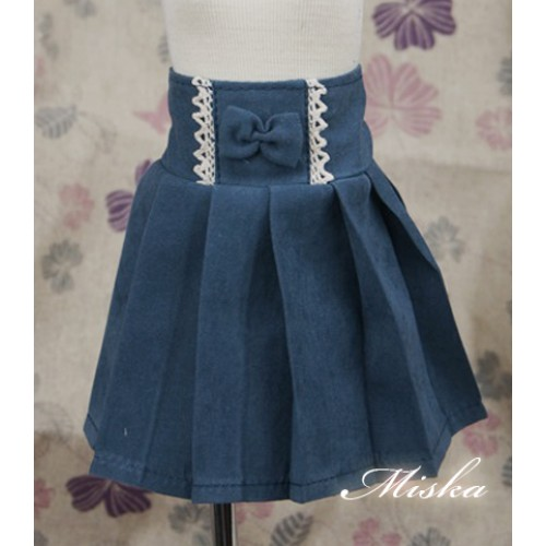 MISKA*1/4 High-waisted Pleated skirt - MSK012 005