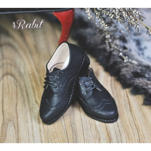[Pre]1/3Boy SD13/SD17 Classic Oxford Shoes - RSH005 Black