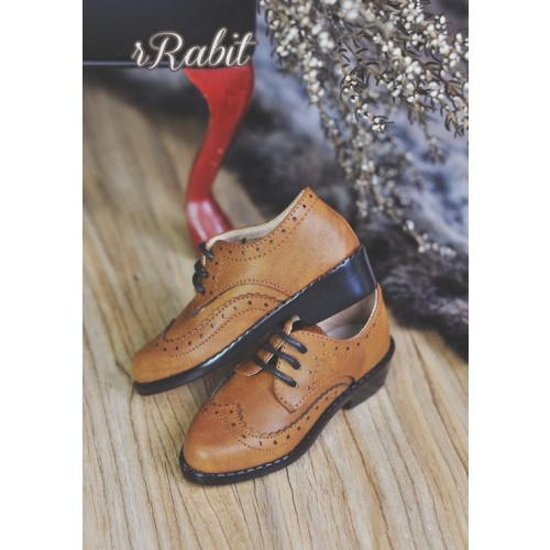 [Pre]1/3Boy SD13/SD17 Classic Oxford Shoes - RSH005 Caramel