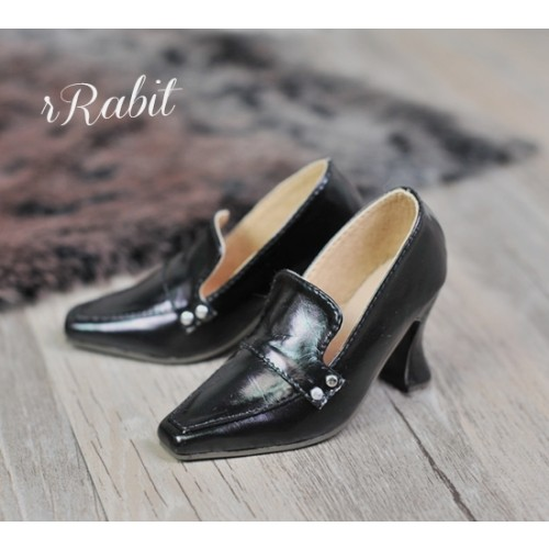 [Pre]IP Women/1/3Boy Highheel Loafers - RSH006 Dark Night